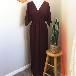 Dresses & Skirts - Embroidered Maxi Dress